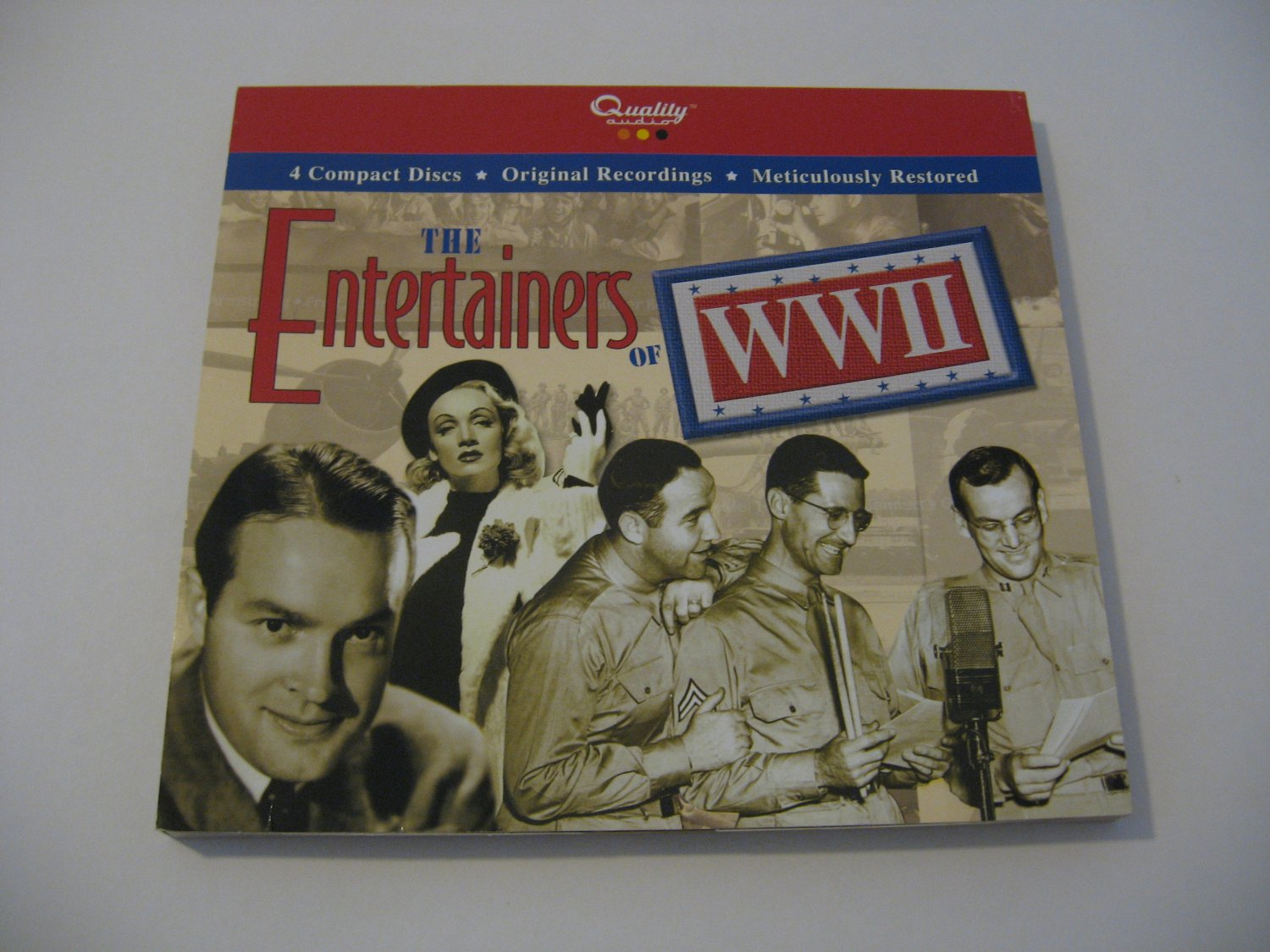 Bob Hope & Others - The Entertainers Of WW11 - 2004 (CD)
