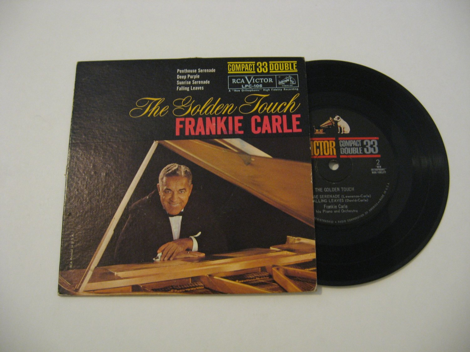Frankie Carle - The Golden Touch - 1961 (Vinyl LP)