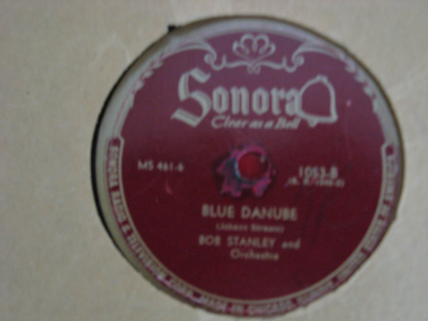 Bob Stanley - Blue Danube/Thousand And One Nights - 1945 (Vinyl Records)
