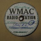 WMAC Radio Station - Theme Song - (Vinyl Record)