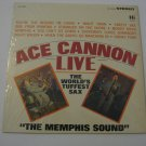 Ace Cannon - Live - 1965  (Vinyl Records)