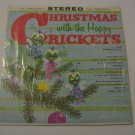 The Happy Crickets - Christmas With - 1959  (Vinyl LP)