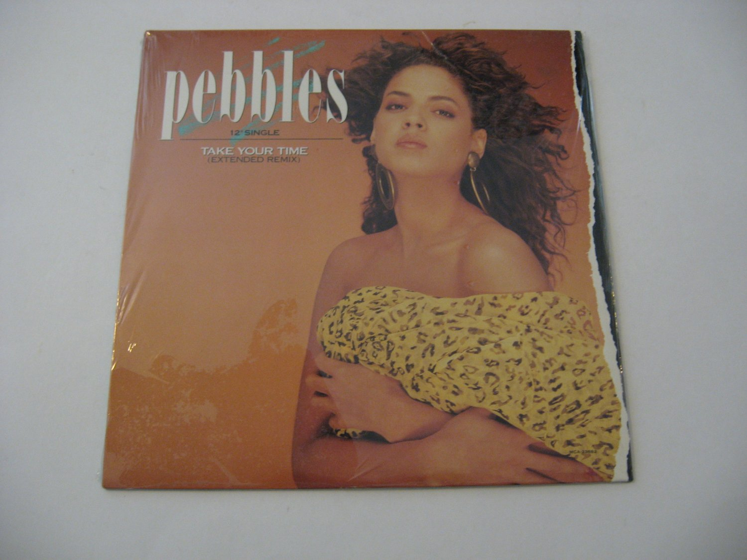 """Pebbles - Take Your Time - 12"""" Single - 1988   (Records)"""