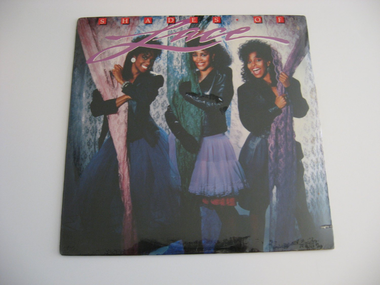 Lace - Shades Of Lace - 1987 - Factory Sealed!   (records)