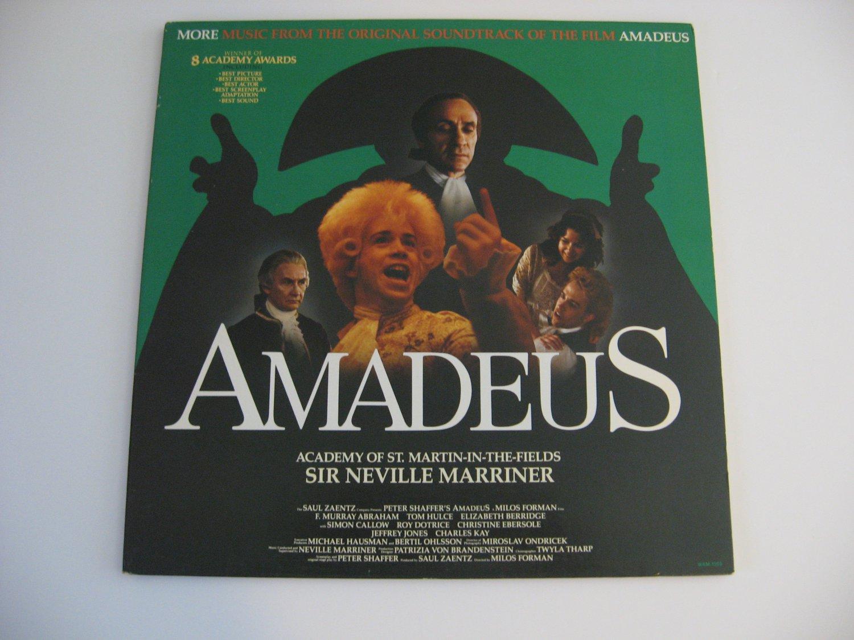 Amadeus - Original Motion Picture Soundtrack! - 1985  (Records)