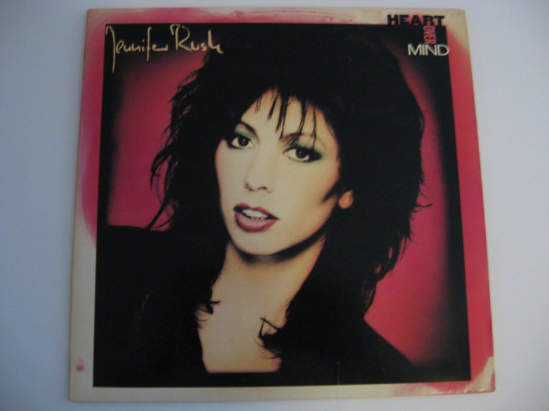 Jennifer Rush - Heart Over Mind - 1987  (record)