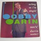 Bobby Darin - Rare 'n' Darin - 1986