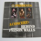 Johnny Cash - Linda Ronstadt - Roy Clark  - A Concert: Behind Prison Walls - 1978