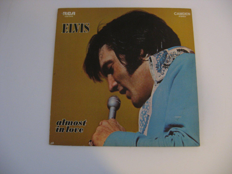 Elvis Presley - Almost In Love -  Circa 1970