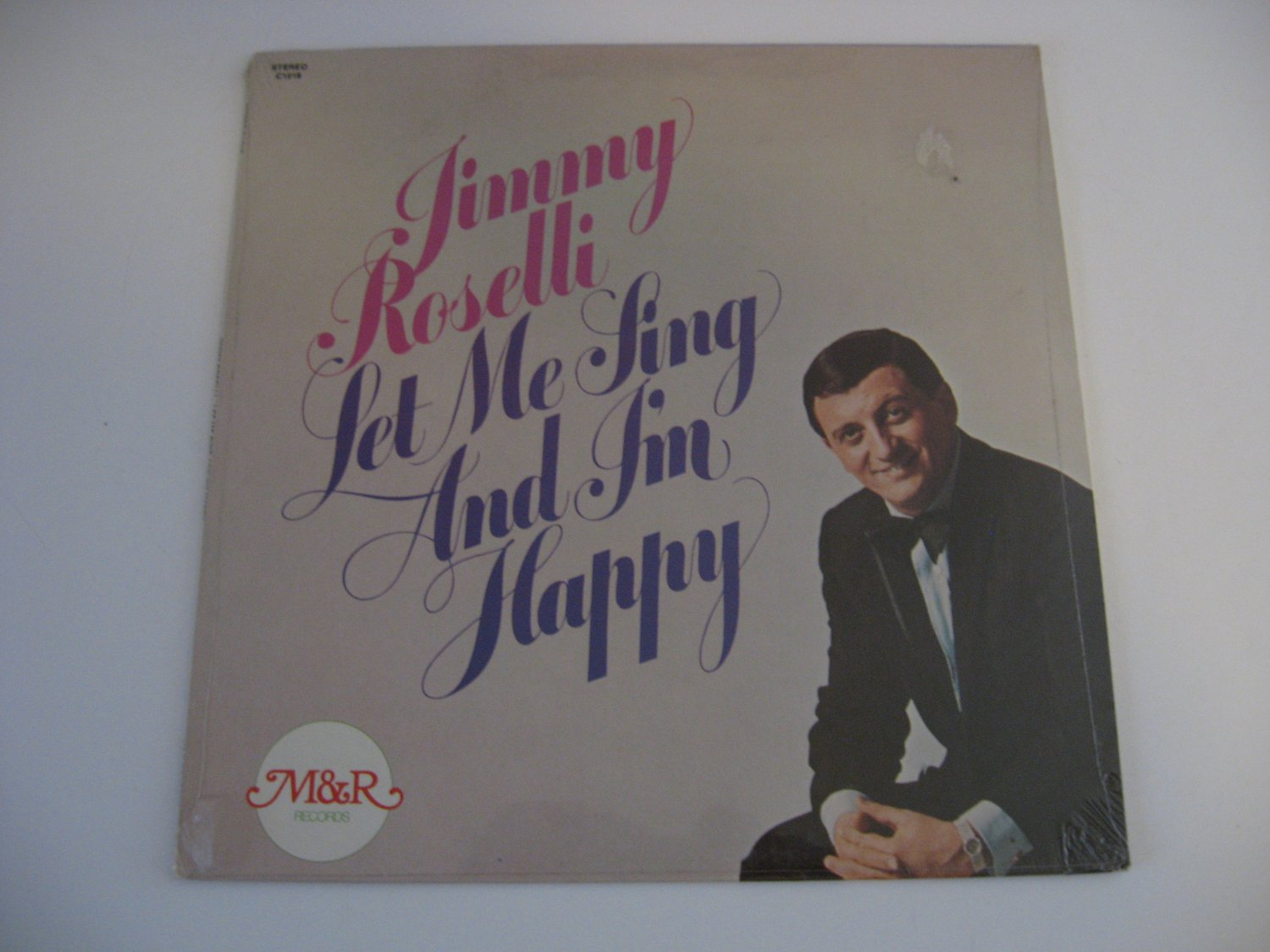 Factory Sealed! - Jimmy Roselli - Let Me Sing And I'm Happy - 1975
