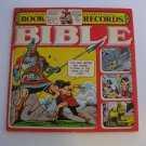 Rare! The Children's Bible - Two Record Set - 32 Page Color Book - Circa 1974