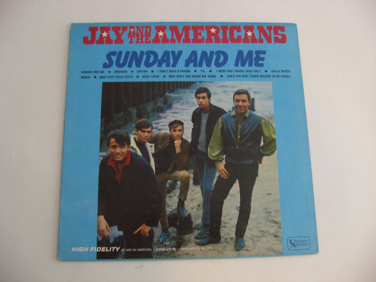 Jay And The Americans - Sunday And Me - Circa 1966
