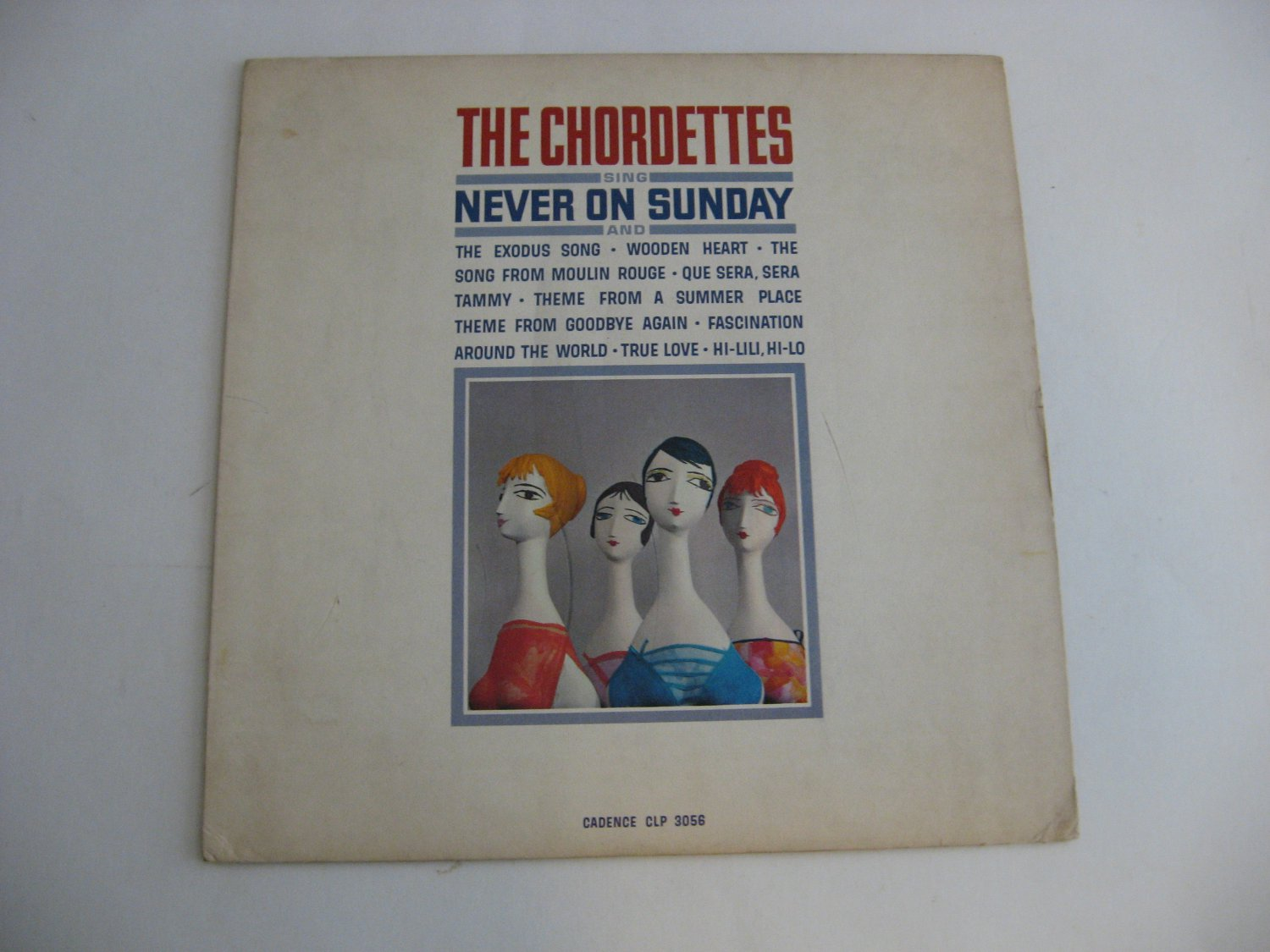 The Chordettes - Never On Sunday - Circa 1962