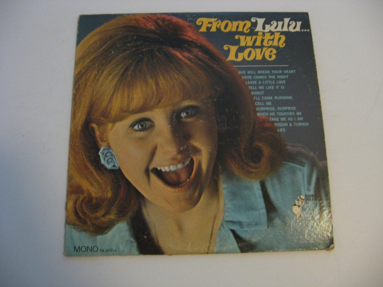 Rare!  Lulu - From Lulu With Love - Circa 1967