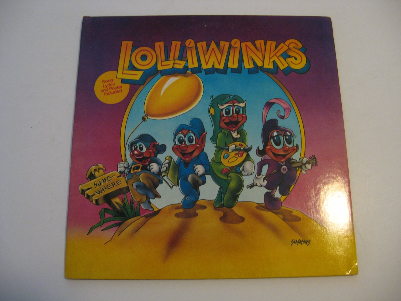 Lolliwinks - Lolliwinks + Poster! - Circa 1981