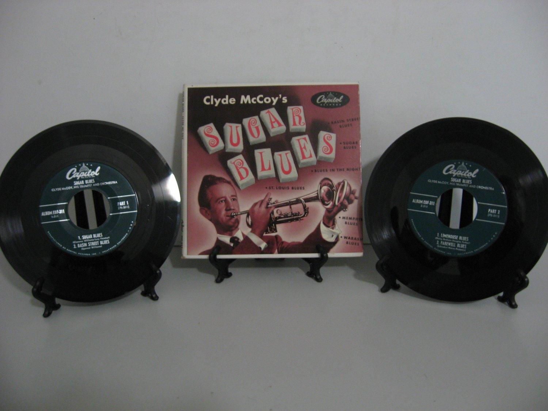 Rare Vinyl! Clyde McCoy - Sugar Blues - Double Record Set! - Circa 1952