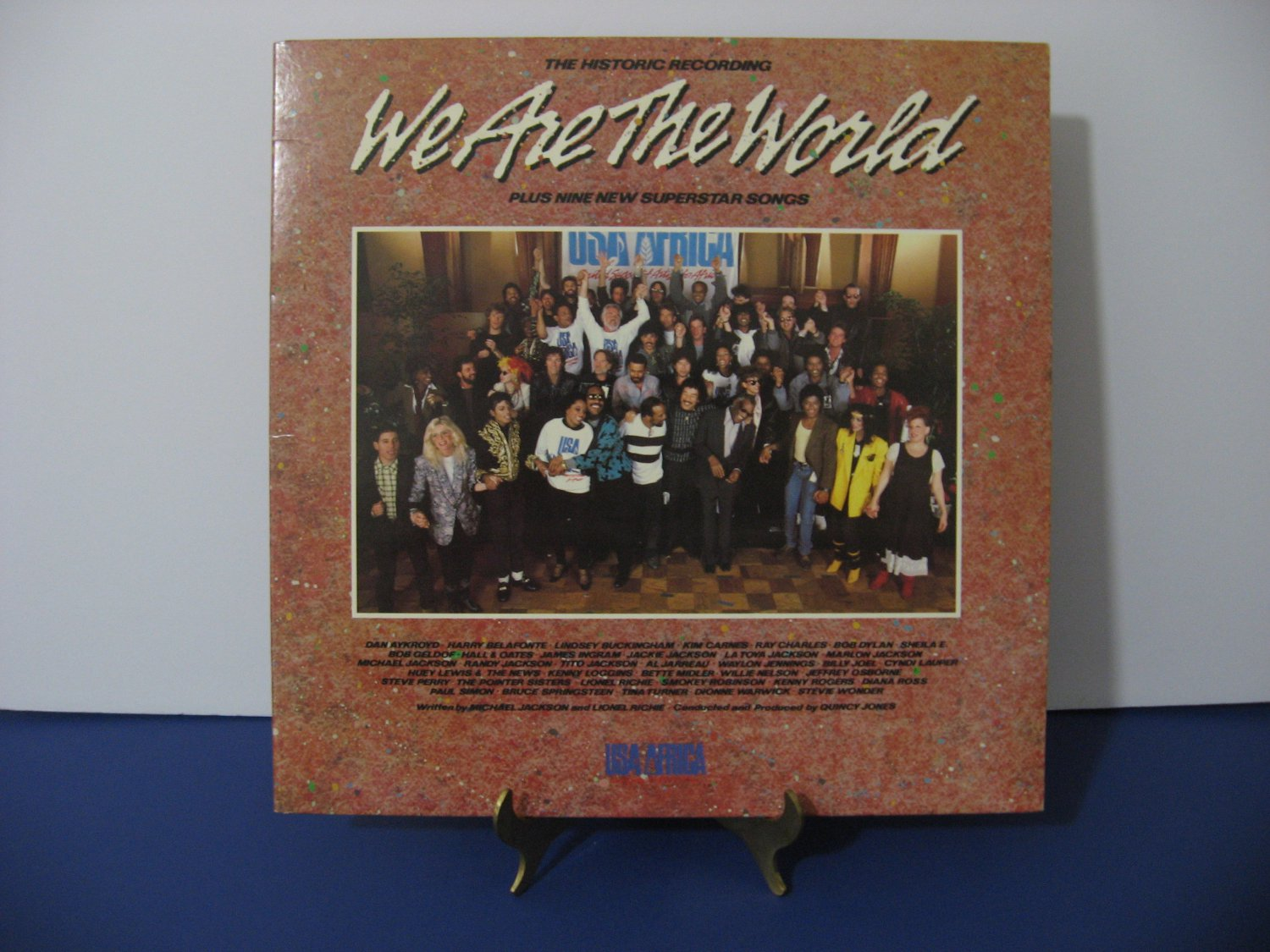 Michael Jackson, Stevie Wonder and many more - We Are The World - Circa 1985