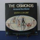 The Osmonds - Around The World - Live in Concert - Double Album Set - Circa 1975