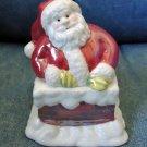 Vintage AVON Santa LUSTREWARE Small Box CONTAINER