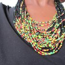 multi-colored necklace