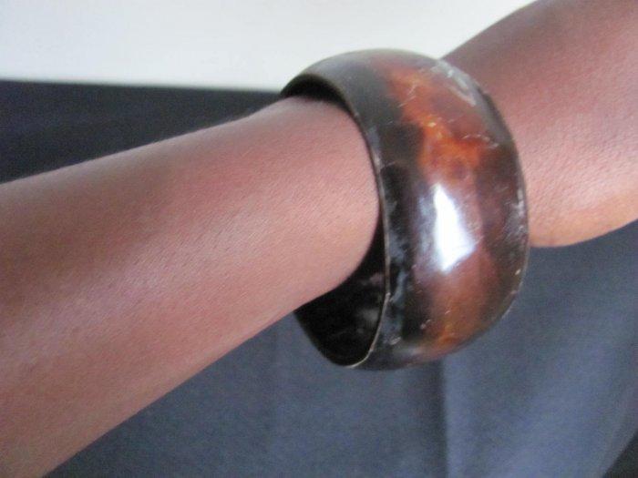 brown redish bracelet