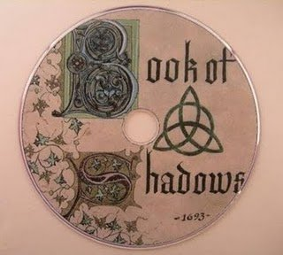 Charmed Book of Shadows DVD rom Png pictures Pages