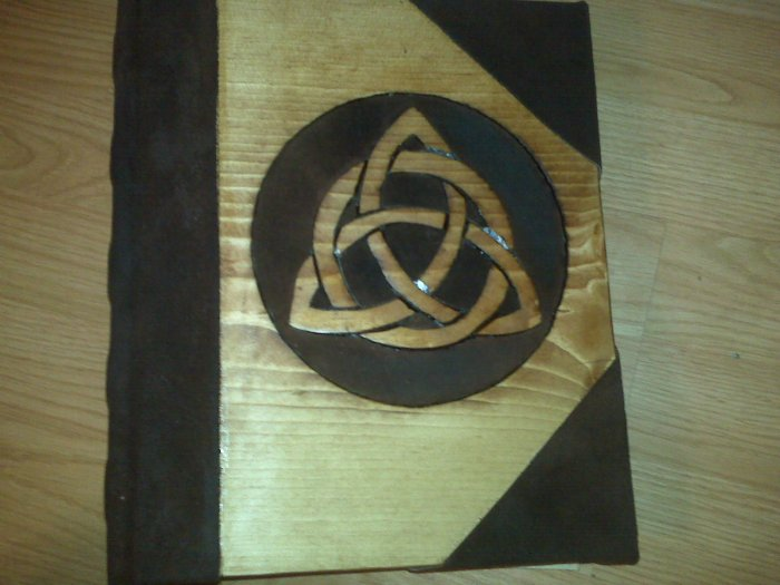 Triqutra Charmed Book of shadows Blank BOS
