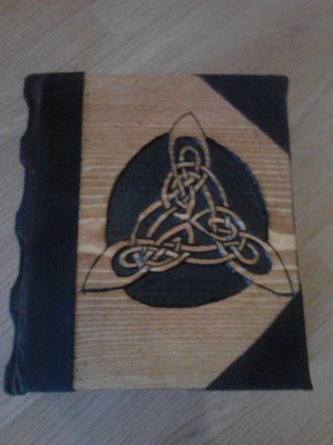 Triquetra Book of Shadows Blank BOS