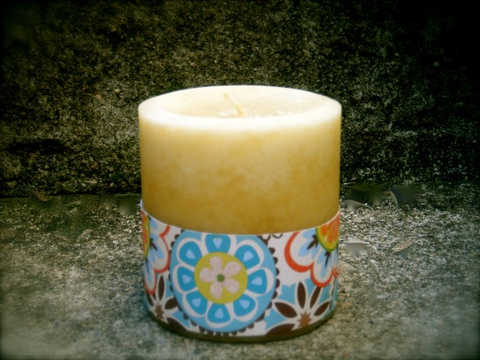 Coconut Scented Pillar Candle 12oz