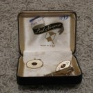 Vintage Lord Newport Signed Anson tie clasp, cuff links