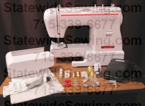 Removable sewing bed. Photo from StatewideSewing.com