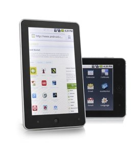 "Android 2.1 Tablet PC-aPad-MID-7"" TFT Touch Screen-ARM 11-Telechips Wifi-Camera"