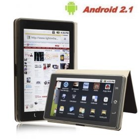 """Android 2.1 Ultra Thin 7"""" Double Touch Screen 4G Wifi G-sensor HDMI Output Tablet"""