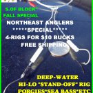 "PORGY SEA BASS ""STAND-OFF""RIG'S***PROMO SALE*LIMITED TIME**"