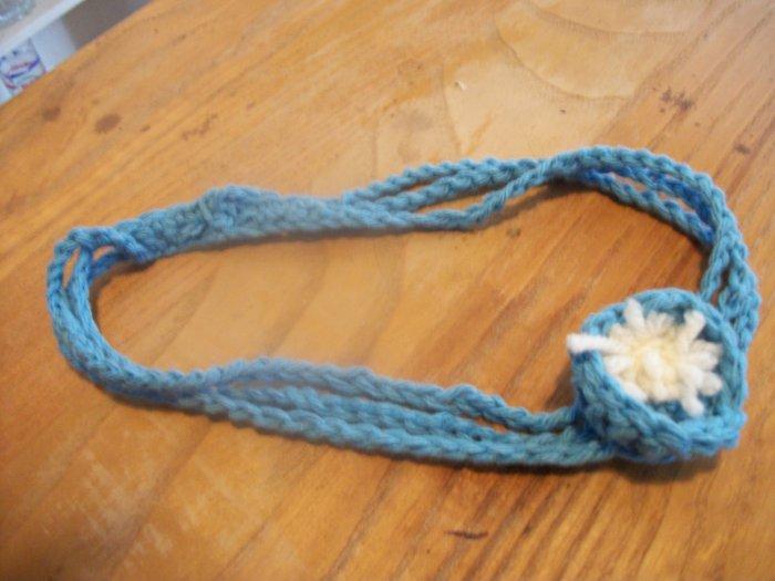 headband with pompom!