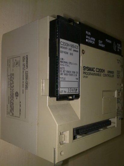 Omron PLC C200H-CPU01