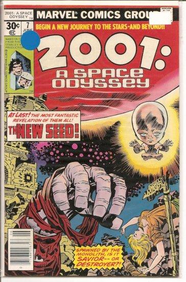 2001, A Space Oddessy # 7, 8.0 VF