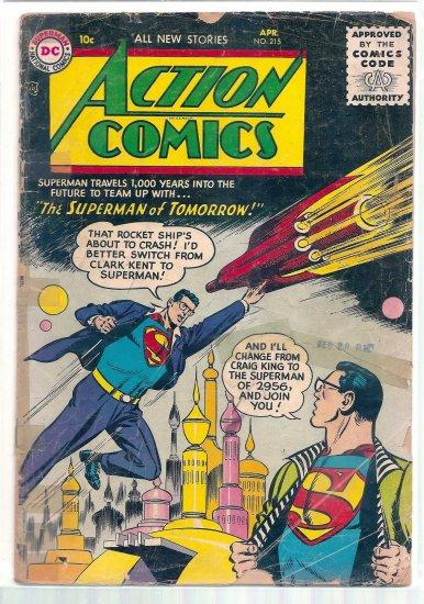 ACTION COMICS # 215, 1.0 FR