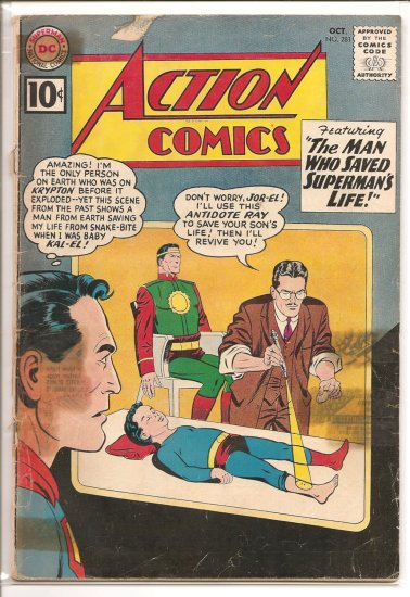Action Comics # 281, 2.0 GD