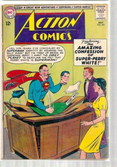 ACTION COMICS # 302, 2.0 GD