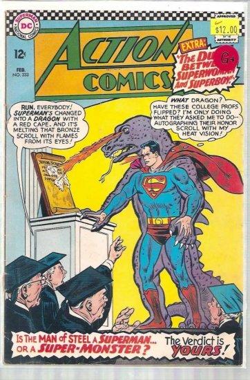 ACTION COMICS # 333, 2.5 GD +