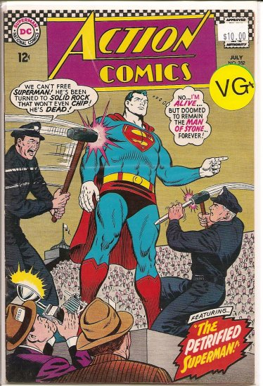 Action Comics # 352, 4.5 VG +