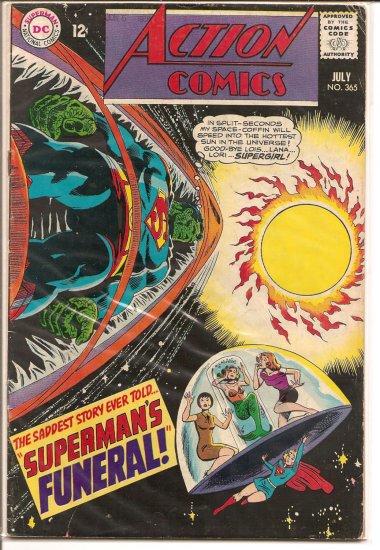Action Comics # 365, 4.5 VG +