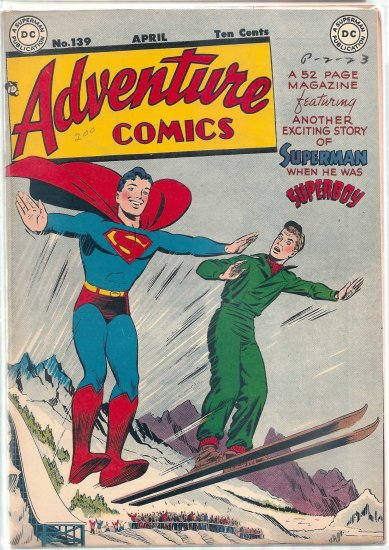ADVENTURE COMICS # 139, 7.5 VF -