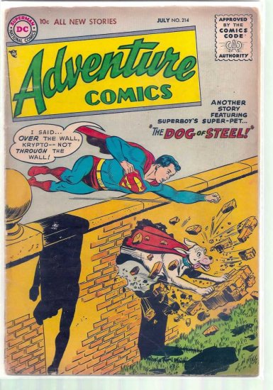 ADVENTURE COMICS # 214, 2.5 GD +