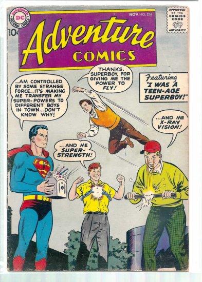 ADVENTURE COMICS # 254, 2.5 GD +