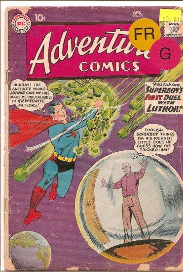 Adventure Comics # 271, 1.5 FR/GD