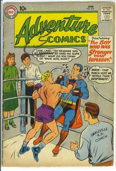 Adventure Comics # 273, 2.0 GD