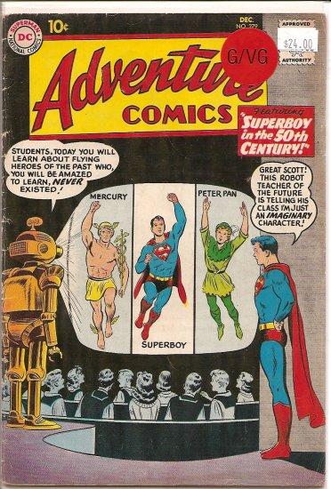 Adventure Comics # 279, 3.0 GD/VG