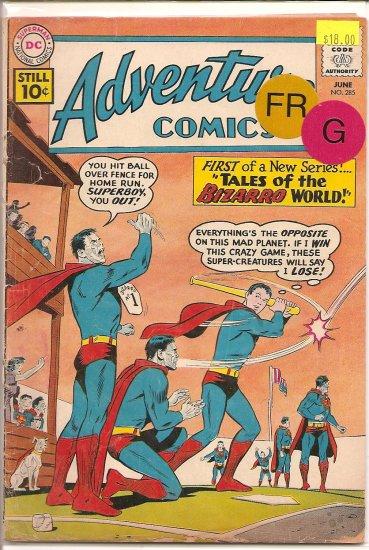 Adventure Comics # 285, 1.5 FR/GD